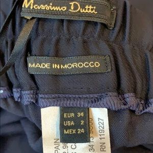 Massimo Dutti Pants & Jumpsuits - NEW Massimo Dutti Cargo Cropped Trousers Pants